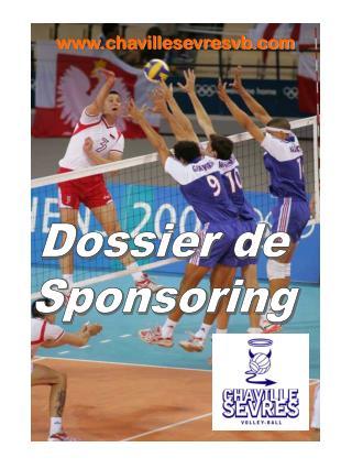 Dossier de Sponsoring
