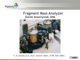 Fragment Mass Analyzer