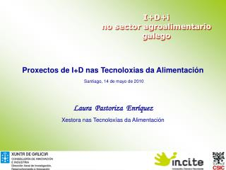 I+D+i  no sector agroalimentario galego