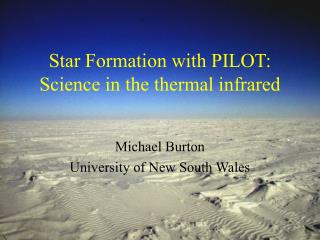 Star Formation with PILOT: Science in the thermal infrared