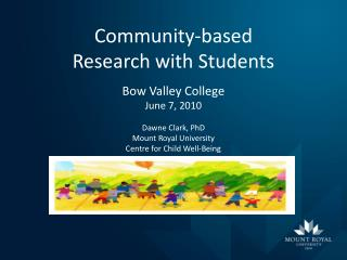 Community-based  Research with Students