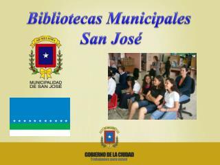 Bibliotecas Municipales  San Jos�