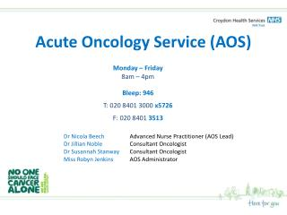 Acute Oncology Service (AOS)