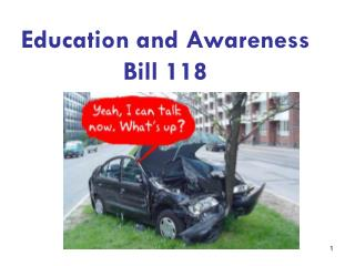 Education and Awareness  Bill 118