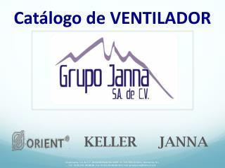 Catálogo de VENTILADOR