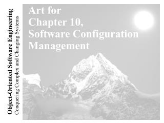 Art for Chapter 10, Software Configuration Management