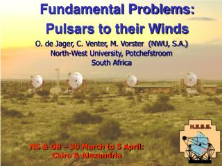 Fundamental Problems:  Pulsars to their Winds