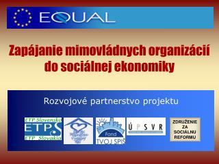 Zapájanie mimovládnych organizácií do sociálnej ekonomiky