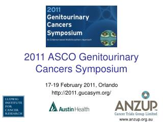 2011 ASCO Genitourinary Cancers Symposium