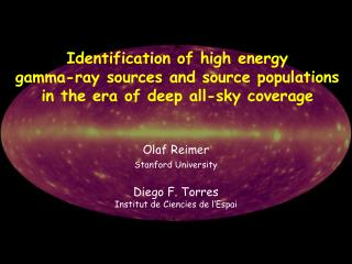 Identification of high energy  gamma-ray sources and source populations