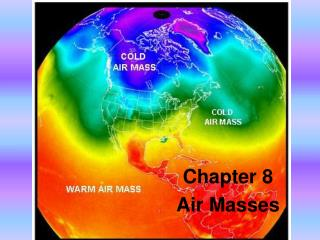 Chapter 8 Air Masses