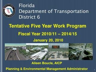 Florida  Department of Transportation  District 6