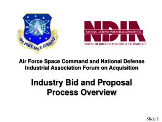 Air Force Space Command and National Defense Industrial Association Forum on Acquisition