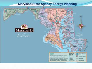 Maryland State Agency Energy Planning