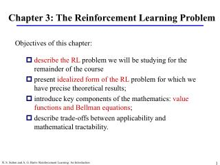 Chapter 3: The Reinforcement Learning Problem