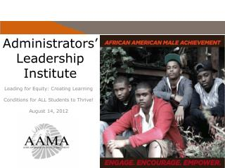 Administrators '  Leadership Institute