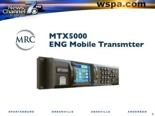 Live truck transmitter MTX 5000