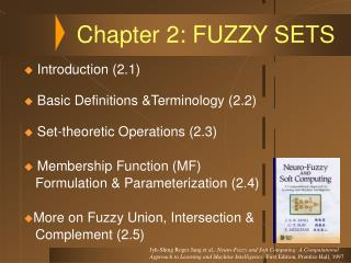 Chapter 2: FUZZY SETS