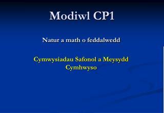 Modiwl CP1