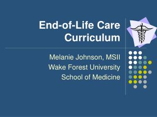 End-of-Life Care Curriculum