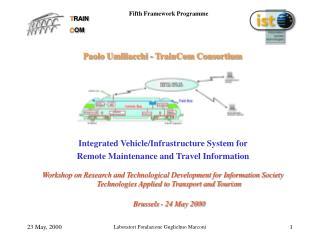 Paolo Umiliacchi - TrainCom Consortium