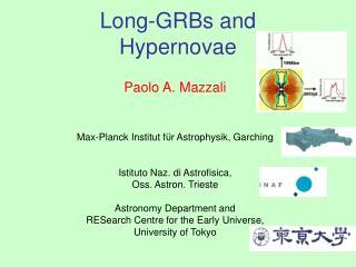 Long-GRBs and  Hypernovae