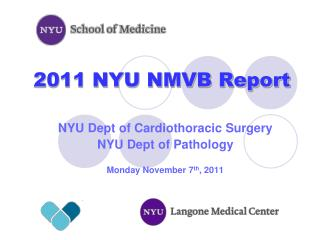 2011 NYU NMVB Report