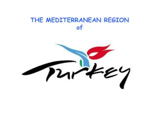 THE MEDITERRANEAN REGION  of