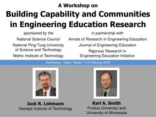 A Workshop on Building Capability and Communities in Engineering Education Research
