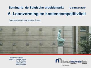 6. Loonvorming en kostencompetitiviteit