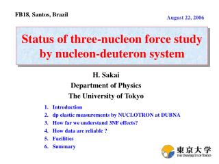 Status of three-nucleon force study by nucleon-deuteron system
