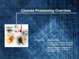 License Processing Overview