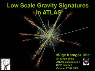 Low Scale Gravity Signatures  in ATLAS