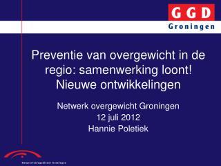 Preventie van overgewicht in de regio: samenwerking loont! Nieuwe ontwikkelingen