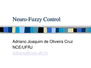 Neuro-Fuzzy Control