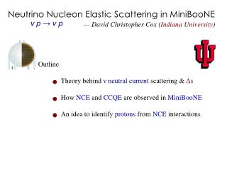 Neutrino Nucleon Elastic Scattering in MiniBooNE