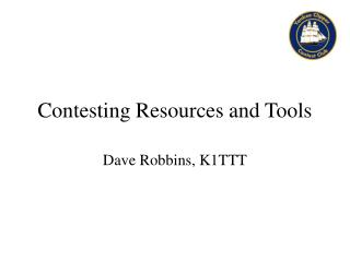 Contesting Resources and Tools