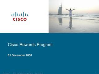 Cisco Rewards Program