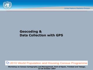 Geocoding   Data Collection with GPS