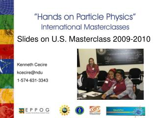 Slides on U.S. Masterclass 2009-2010 Kenneth Cecire kcecire@ndu 1-574-631-3343