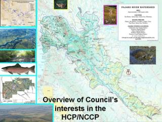 Pajaro Watershed Council Origins HCP Process and Areas of Interest