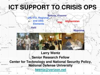 ICT SUPPORT TO CRISIS OPS