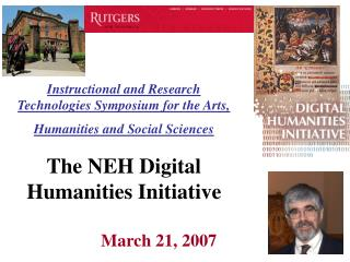 Instructional and Research Technologies Symposium for the Arts, Humanities and Social Sciences