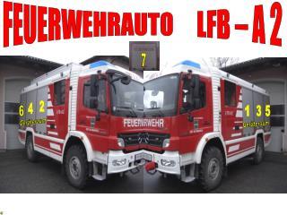 FEUERWEHRAUTO     LFB – A 2