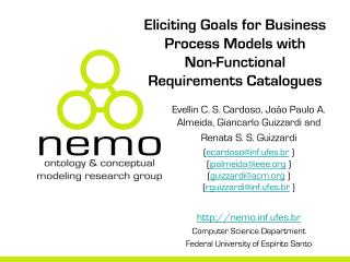 Eliciting Goals for Business Process Models with  Non-Functional Requirements Catalogues