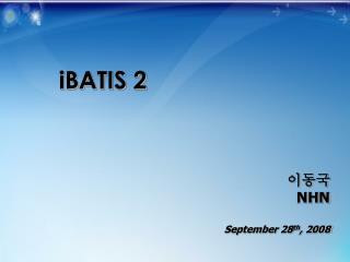 iBATIS 2