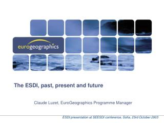 The ESDI, past, present and future
