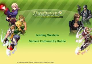 Leading Western  Gamers Community Online