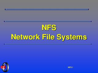 NFS Network File Systems