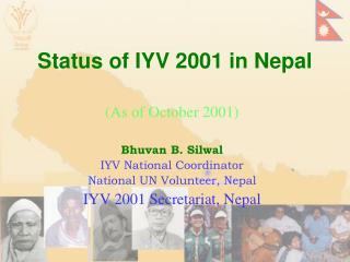 Status of IYV 2001 in Nepal